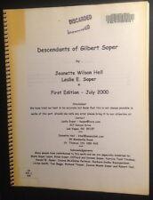 US & Canadian Genealogy Descendants of Gilbert Soper of Vermont & Ontario