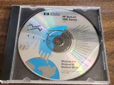 HP DESKJET 720C SERIES CD-ROM for Windows 3.1x, 95, NT 4.0 – 1997 C5870-10081