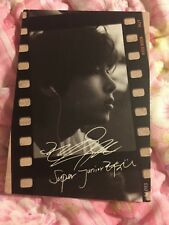 Super Junior Ryeowook B/W Film Starcard Star Collection Official PhotoCard Kpop