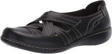 Clarks Women Slip On Shoes Ashland Rosa Leather