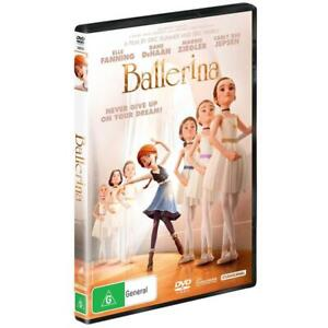 Ballerina (DVD, 2016) PAL Region 4 (Elle Fanning, Dane DeHaan, Carly Rae Jepsen)