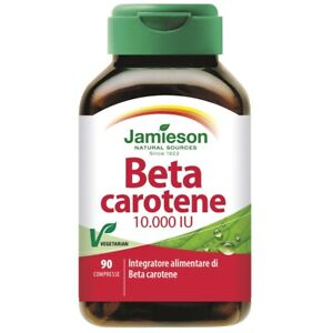 Jamieson Beta Carotene 90 cpr Integratore puro 100% 10000 IU Betacarotene