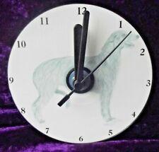 More details for scottish deerhound cd clock by curiosity crafts