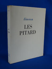 SIMENON : LES PITARD 1945 ILLUSTRATIONS DE ROBERT JOËL