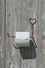Agitador de cobre puro hermosa mano golpeado Soporte para papel higiénico Corazón Tejido