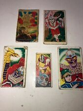 Vintage Ultraman Anime Manga Japan Menko Card 1960s 2 M3