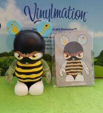 """Disney Vinylmation 3"""" Park Set 6 Urban w/ Card Queen Bee Bumblebee"""