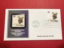 #3994 Fdc 2006 Fleetwood Favorite Children's Book Animals Frederick Mouse M251