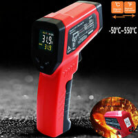 Handheld Infrared IR Laser Thermometer Non-contact Temperature Digital Meter Gun