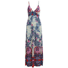 STARK REDUZIERT ! Fashionable Plunging Neck  Strap Print   Dress BLACK FRIDAY !