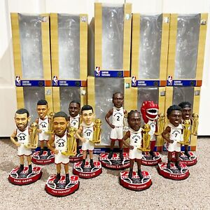 Toronto Raptors 2019 NBA Champions Limited Edition Full Set Bobblehead Lot