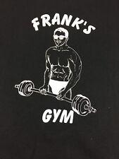 Vintage T Shirt Franks Gym Size 3xLarge 50/50 1990's