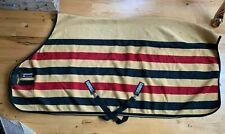 84 RAMBO Ireland Newmarket Fleece Cooler Blanket Liner Dress Sheet GOLD (SH307)