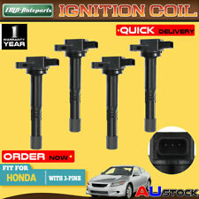 4Pcs Ignition Coils for Honda Accord CRV Integra Odyssey K24A K20A 4Cyl 2.0 2.4L