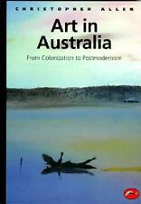 Art in Australia from Colonization to Postmodernism (World of Art)-ExLibrary