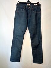 pantalon jeans bleu Kiliwatch slim fit taille 28 us soit 38 tbe (C9)