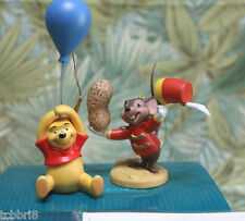 WDCC ornaments Friendship Offering and Up the Honey Tree Pooh & Timothy NIB COA