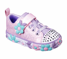 Skechers Girls Twinkle Toes: Daisy Lites 10965PKMT Light Up Shoes