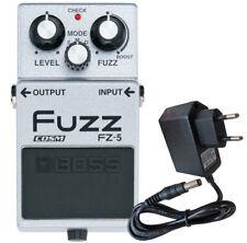 BOSS fz-5 Fuzz-Effetto Pedale dispositivo + alimentatore