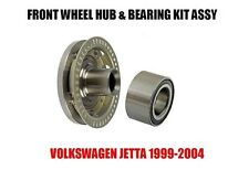 VW Jetta Front Wheel Hub And Bearing Kit Assembly 1999-2004