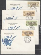 Russia, Scott cat. 5929-5932. Music Instruments issue on 4 First day covers.