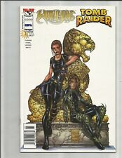 Witchblade Tomb Raider 1 (1998)  NEWSTAND!!  + Other Covers!  EXCELLENT COPY!!!
