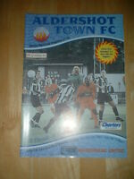 2001/2 ALDERSHOT TOWN  V MAIDENHEAD UNITED - FA CUP