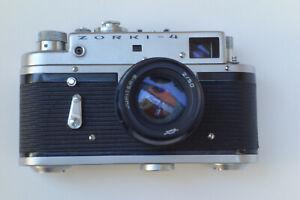 Zorki 4 avec Jupiter-8 2/ 50 mm