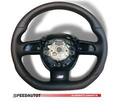 Mise au Point S-LINE Aplati Volant Cuir Noir Audi A4 8e0 8K0