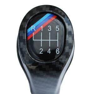 POMELLO CAMBIO BMW SERIE 1 3 E87 E82 E90 E91 E92 X1 X3 X5 X6 6 MARCE CARBON LOOK