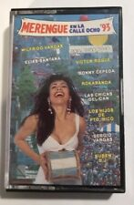 Merengue en La Calle Ocho  93  - Cassette Tape - Rare