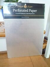 Mill Hill Perforated Paper 14 Count  2 sheets 9 X 12 - Silver