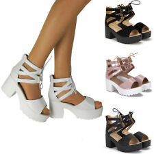 Standard (B) Party Wedge Synthetic Upper Heels for Women