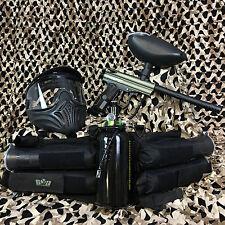 NEW Kingman Spyder Victor LEGENDARY Paintball Gun Package Kit - Olive Green
