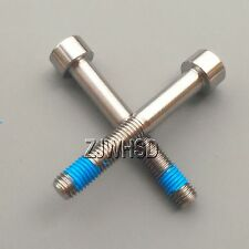 2pcs M7 x 50 Titanium Ti Screw Bolt Allen Hex Socket Cap head with ThreadLocker