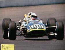 JERRY GRANT 1966 INDY 500 Bardahl Pacesetter Homes  EAGLE FORD 8 X 10 PHOTO 2
