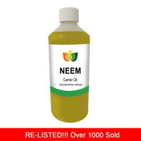 250ml NEEM ORGANIC UNREFINED OIL PREMIUM Cold Pressed Natural Carrier/Base