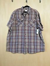 Mens 3XLT Great Northwest Clothing Company Short Sleeve Work Shirt NWT