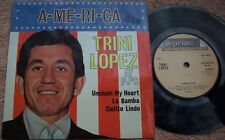 TRINI LOPEZ AT PJs AMERICA UK Reprise EP CLEAN ISSUE Pop Rock Latin