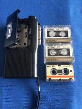 Sony M-627V Microcassette-corder Working Order