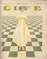 1909 Life June 10 Coles Phillips,Flirts,Teddy in Africa