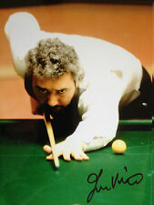 JOHN VIRGO - TOP ENGLISH SNOOKER PLAYER - SUPER SIGNED COLOUR PHOTO