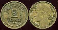 2 FRANCS MORLON  1931