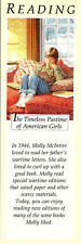 Retired American Girl Molly Bookmark! Early Pleasant Company Reading Bookmark