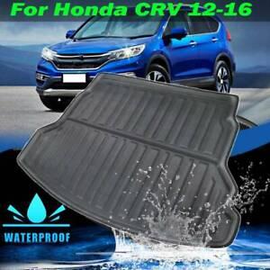 Rear Trunk Cargo Mat Boot Liner For Honda CRV CR-V 2012-2016 Floor Tray Carpet