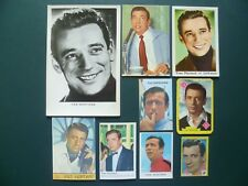 chromos plaatjes images acteurs : Yves Montand trading cards cartes Monty Panini