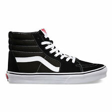 Vans SK8 HI Black/White  Skateboarding Shoes Classic  VN-0D5IB8C Fast Shipping