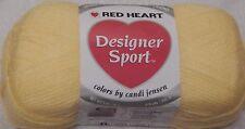 Red Heart Designer Sport Yarn - Bag of 3 - Lemon Zest #3215 - FREE SHIPPING