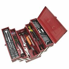 Supatool STEEL CANTILEVER TOOL KIT 159 Pieces, Lockable, Portable, PVC Trays