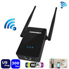 COMFAST Wireless Repeater 300M Network Router WiFi Signal Range Extender EU Plug